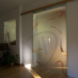 portes en verre
