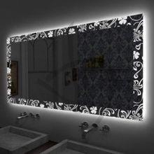 Miroir de rétro-éclairage DEL décorées