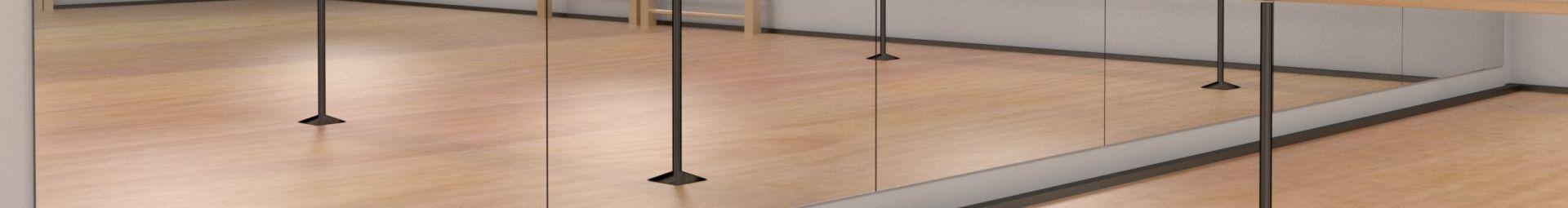 miroirs modulaires pour les grands environnements