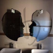 un miroir en forme