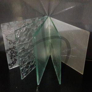 Verre givré - verre imprimé