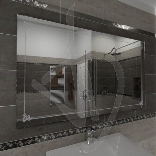 miroir-de-salle-de-bains-avec-une-decoration-b001