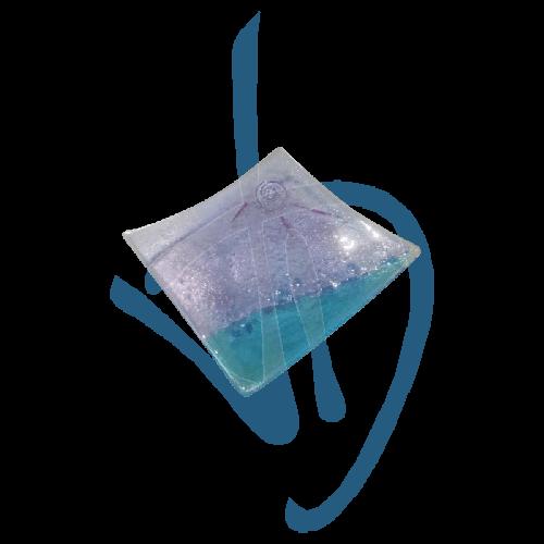 centre-de-table-en-verre-de-murano-violet-et-bleu-clair-fait-main