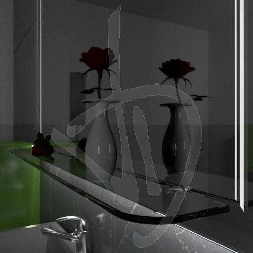 etagere-en-verre-transparent-avec-le-numero-2-coins-arrondis