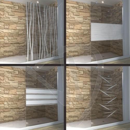 douche-en-verre-fixe-sur-mesure-le-verre-bronze-decore