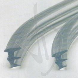Profilo siliconico fermavetro, spessore 2 mm