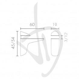 tablette-pour-des-charges-moyennes-mesure-45-54xp60mm-lepaisseur-de-verre-3-12-mm
