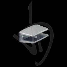 Reggimensola per carichi leggeri, Misure 26xP30mm, Spessore vetro 6-10 mm