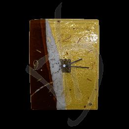 horloge-murale-en-verre-de-murano-couleur-bronze-faite-a-la-main