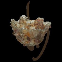 bougeoir-en-verre-de-murano-abat-jour-bronze-fait-main