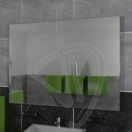 Specchio su misura, con pellicola posteriore