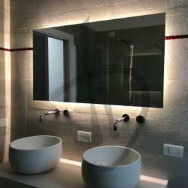 Specchio led, specchio retroilluminato